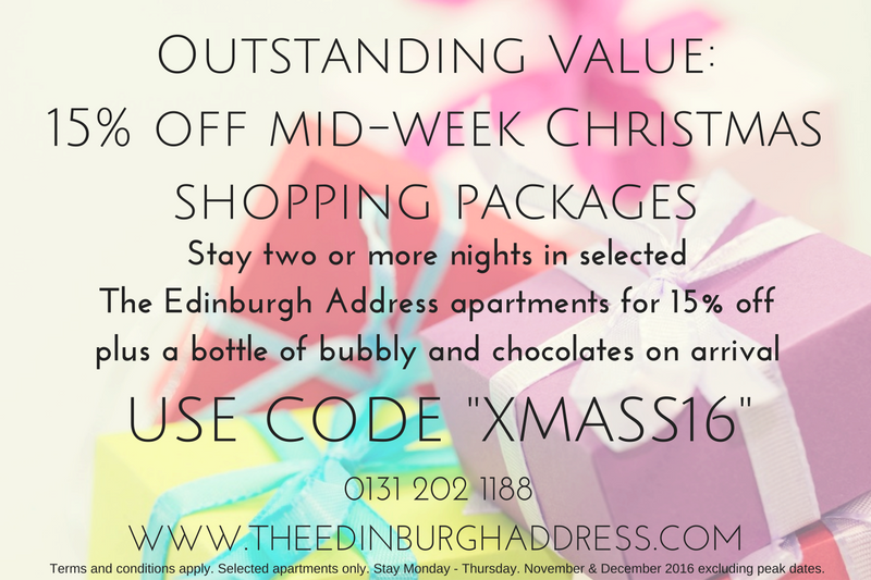 Outstanding Value 15 off mid week Christmas shopping packages