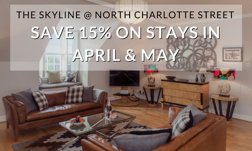 SAVE 15 ON STAYS IN APRIL MAY