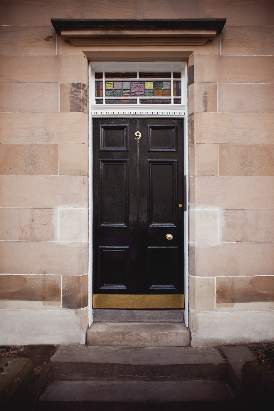 Spottiswoode Road, main door, Edinburgh