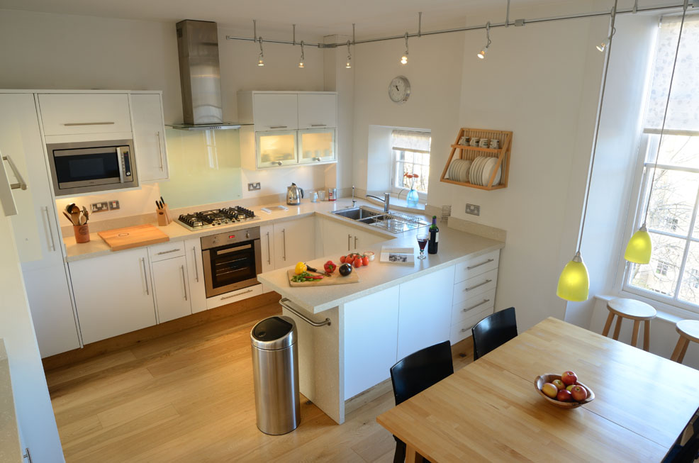 Fully Equipped Kitchen at Gayfield Square